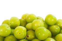 Green pum fruit Royalty Free Stock Photo
