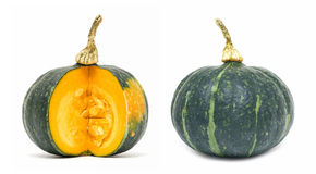 Green pumpkin Royalty Free Stock Photo