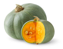Green pumpkin Stock Images