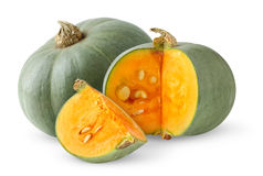 Green pumpkin Stock Image
