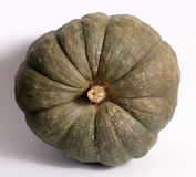 Green pumpkin for Halloween Royalty Free Stock Photos