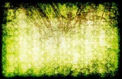 Green Punk Rock Emo Grunge. Style Background stock illustration