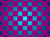 Green and purple abstract background, squares Royalty Free Stock Image