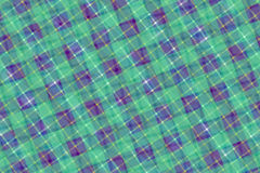Green and Purple Computer Generated Abstract Plaid Pattern Stock Photos