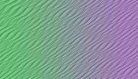 Green and purple  diagonal curves and angles abstract background illustration. Computer generated diagonal curves, angles, and lines abstract wallpaper stock illustration