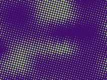 Green-purple halftone background. Digital gradient. Abstract backdrop with circles, point, dots. Dotted pattern. Futuristic panel Vector illustration vector illustration