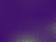 Green-purple halftone background. Digital gradient. Abstract backdrop with circles, point, dots. Dotted pattern. Futuristic panel Vector illustration royalty free illustration