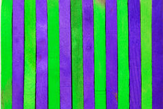 Green and purple wood background Royalty Free Stock Photos