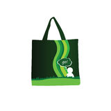 Green purse with people icon color vector Royalty Free Stock Photography