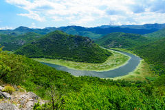 Green Pyramid, Skadar Lake Stock Image