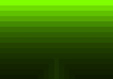 Green quadratic pattern in color geometric.  Stock Photography