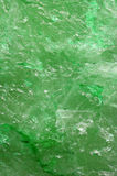 Green quartz background Stock Image