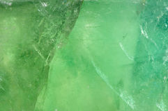 Green quartz texture. Macro shot as background Stock Photos