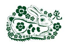 Green rabbit Royalty Free Stock Photography