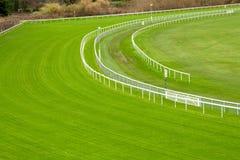 Green Racecourse Stock Photo