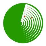 A green radar Stock Images