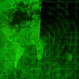 Green radar Stock Photos