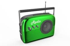 Green radio Stock Photography
