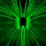 Green radio waves Royalty Free Stock Photo