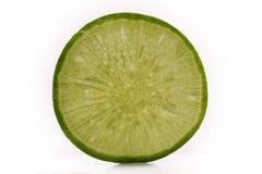 Green radish slices stock photo