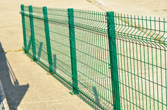 Green Railings Royalty Free Stock Photos
