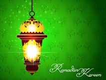 Green Ramadan Background Stock Photos