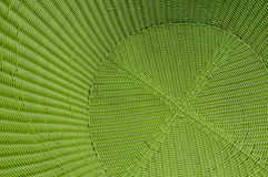 Green rattan wood texture Stock Image