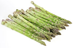 Green raw asparagus Royalty Free Stock Photo