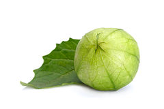 Green raw physalis Royalty Free Stock Photography