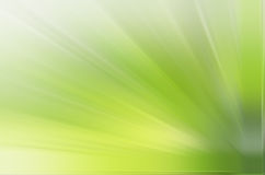 Green ray background. A green ray background radiated from right bottom Stock Photography