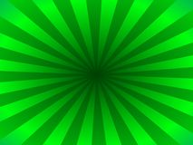 Green rays. Background of green rays originating from central focus Royalty Free Illustration