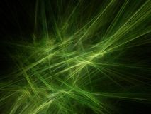Green rays. Abstract background: green rays; computer generated fractal design Royalty Free Stock Photo