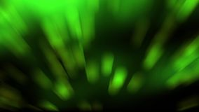 Green rays background stock video