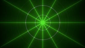 Green rays Royalty Free Stock Photos