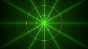 Green rays Royalty Free Stock Photos