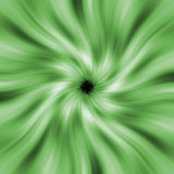 Green rays hole Royalty Free Stock Photo