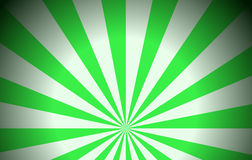 Green rays Royalty Free Stock Image