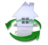 Green real estate Stock Images