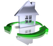 Green real estate Royalty Free Stock Image