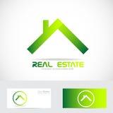 Green real estate logo Stock Photos