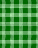 Green realistic fabric pattern Royalty Free Stock Photography