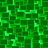 Green rectangular texture background Stock Image