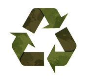 Green Recycle icon Royalty Free Stock Images