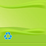 Green Recycle Report Royalty Free Stock Photos