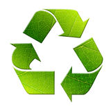 Green recycle symbol Royalty Free Stock Image