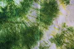 Green recycled paper texture Stock Photography