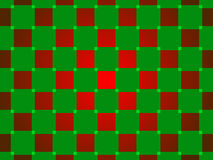 Green and red abstract background, squares Royalty Free Stock Photos