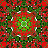 Green and red abstract. Christmas background Stock Image