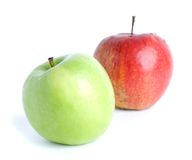Green and red apple Royalty Free Stock Photos