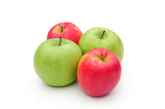 Green and red apples Stock Image